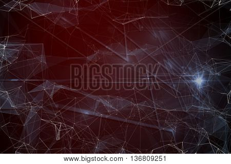 Black background with shades against black background with shiny lines