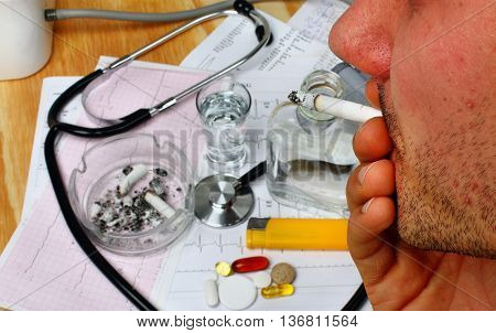 The Effects Of Smoking Cigarettes And Drinking Alcohol