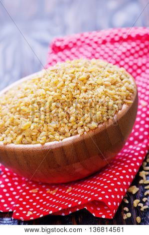 Raw Bulgur