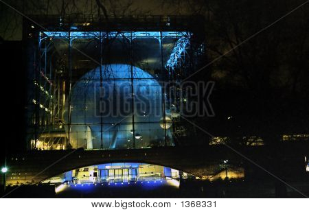 Hayden Planetarium, Night