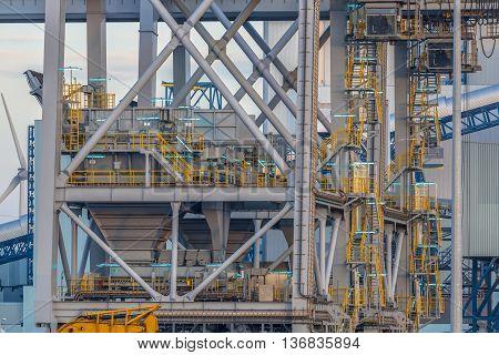 Harbor Crane Construction Detail
