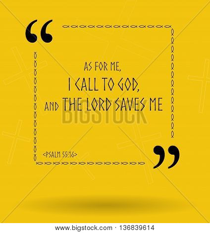 Best Bible quotes about how God helps those who believe Him. Christian sayings for Bible study flashcards illustration