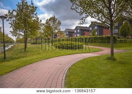 Park In Leek Groningen Netherlands