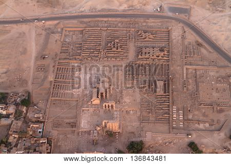The Sethos Temple of Aswan in Egypt