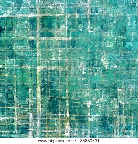 Oldest vintage background in grunge style. Ancient texture with different color patterns: brown; gray; blue; green; cyan; white