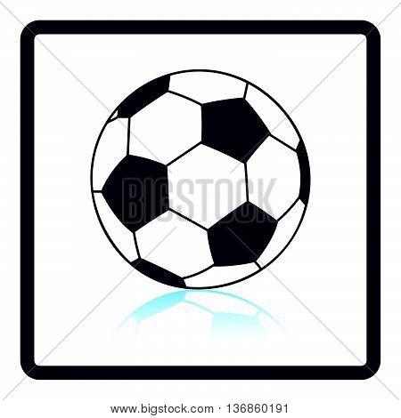 Icon Of Football Ball