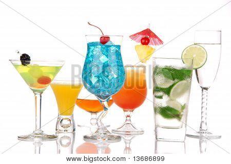 Bebidas alcohólicas Mojito Martini Margarita