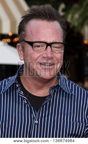 Tom Arnold at the Los Angeles premiere of 'Step Brothers' held at the Mann Village Theatre in Westwood, USA on July 15, 2008.