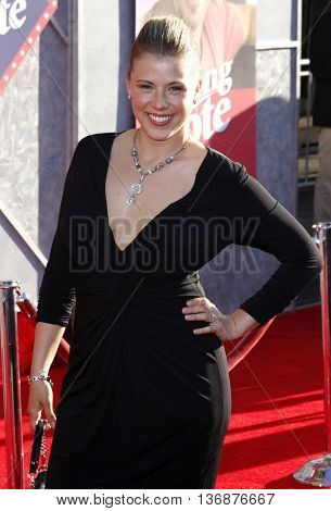 Jody Shilling at the World premiere of 'Swing Vote' held at the El Capitan Theater in Hollywood, USA on July 24, 2008.