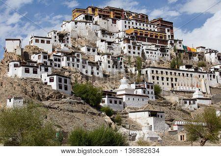 Tiksey Monastery is a Buddhist monastery in Ladakh India