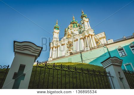 St. Andrew's Church, Kiev Podol , Ukraine