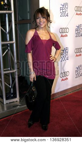 Ashley Peldon at the AFI Fest premiere of' 'Beyond the Sea' at the ArcLight Cinemas in Hollywood, USA on November 4, 2004.