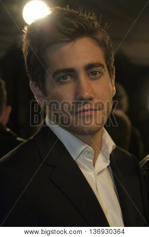 Jake Gyllenhaal at the Los Angeles premiere of 'Kinsey' held at the Mann Village Theater in Westwood, USA on November 8, 2004.
