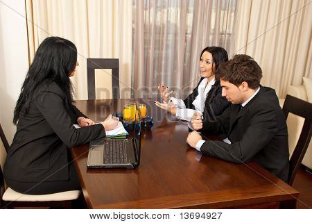 Conversation At Job Interview