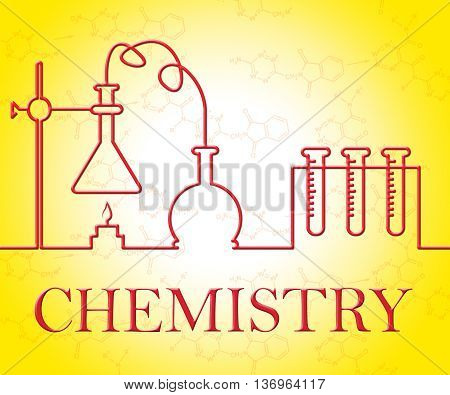 Chemistry Experiment Indicates Evaluation Scientist And Observation