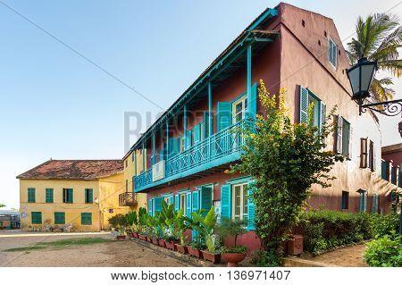 Historical Buildings On Gorée Island