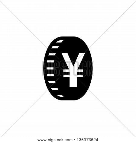 Japanese Yen Flat Icon For Apps And Websites