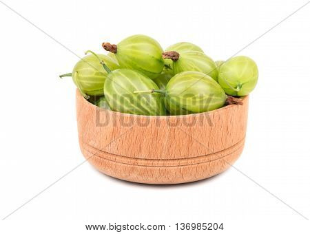 Gooseberries In Bowl