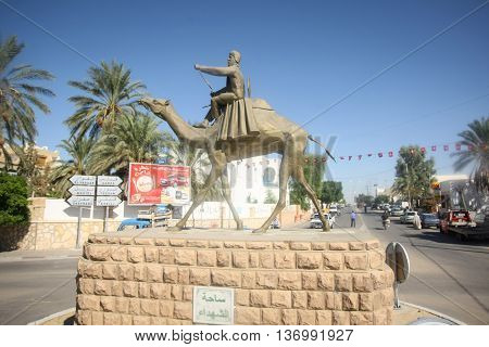 Statue In Douz