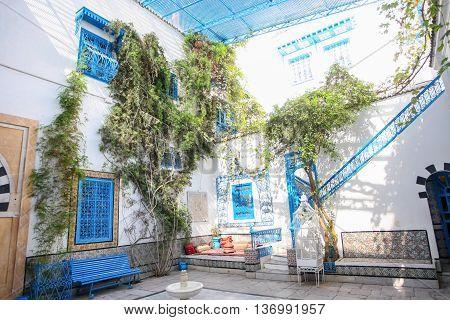 Sidi Bou Said Typical House