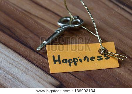 Secret Key For A Happy Life