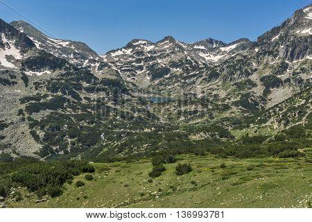 Amazing Landscape around Popovo lake, Pirin Mountain, Bulgaria