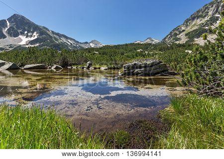 Sivrya peak and Banski lakes, Pirin Mountain, Bulgaria