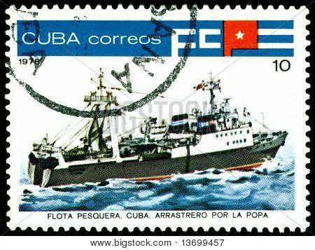 Vintage  Postage Stamp. Tuna Indusnry. 3.