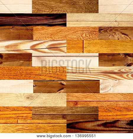 Seamless background with wooden patterns of different colors. Texture can be used for wallpaper, pattern fills, web page background, surface textures