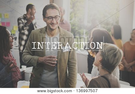 Interaction Collaboration Cooperation Coperate Synergy Concept