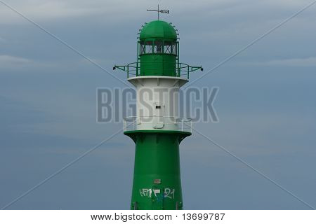 Lighthouse in Warnemunde