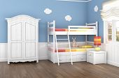 stock photo of bunk-bed  - Children - JPG