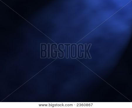 Blue Smokey Background