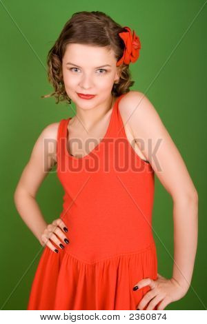 Girl In Red