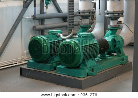 Pumps In Boiler-House