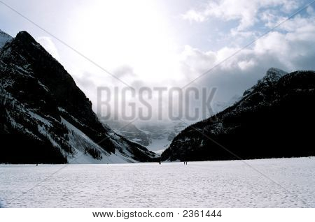 Lake Loiuse Canada Rockies Landscape
