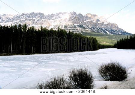 Castle Mountain Alberta Canada