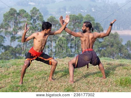 Indian Fighters Performing Adi Thada