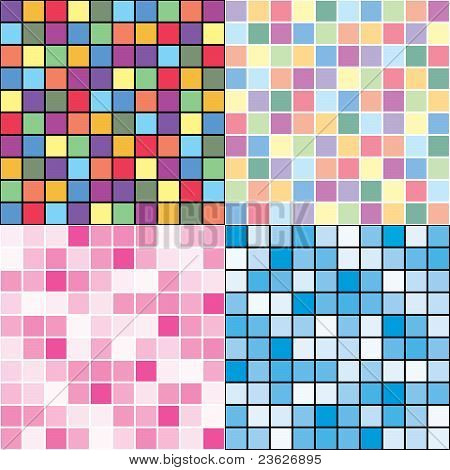Mosaic Style Backgrounds