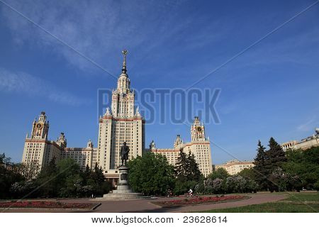 Mgu, State University Of Moscow