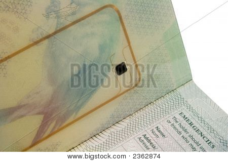 Passport Biometric Chip
