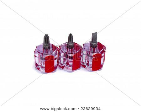 Three Small Screwdriver