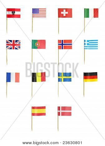 Toothpick Flags