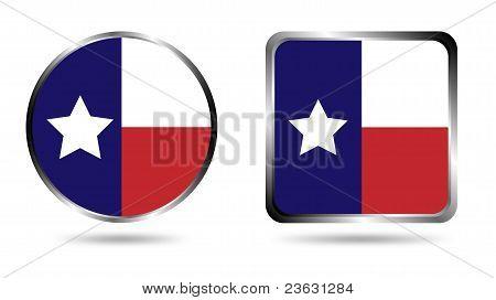 Texas flag icon