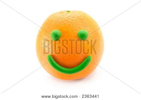 Mr. Smiley Orange