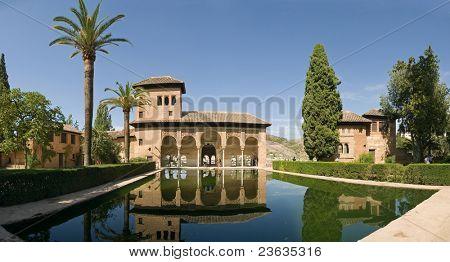 piscina de reflexión Alhambra