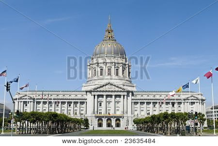 The City Hall of San Francisco California