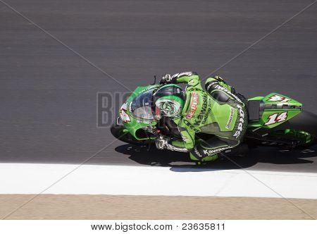 Randy de Puniet  Motorcycle Grand Prix in Laguna Seca, California