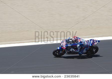 Colin Edwards Motorcycle Grand Prix in Laguna Seca, California