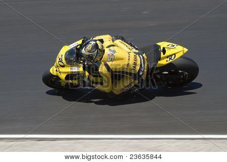 Sylvain Guintoli Motorcycle Grand Prix in Laguna Seca, California